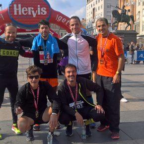 Загреб (полу)маратон 09.10.2016